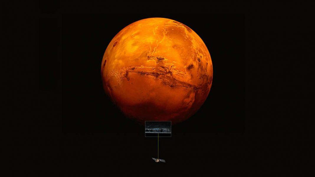 Un enorme lago de agua líquida ha sido encontrado en Marte