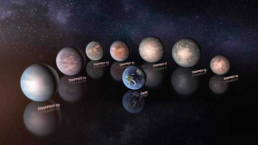 Algunos planetas de TRAPPIST-1 tendrían más agua líquida que la Tierra
