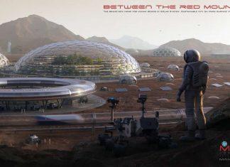 Estos conceptos de hábitat en Marte te dejarán boquiabierto