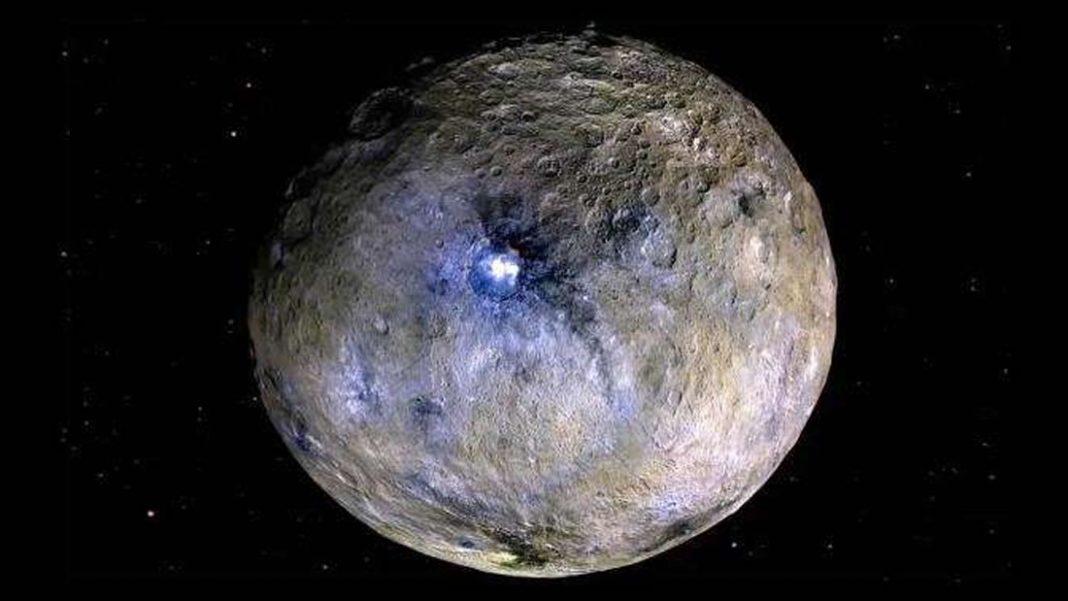 Planeta enano Ceres tuvo una inclinación de 36 grados
