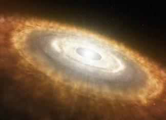 ¿Cómo nació la Tierra? El polvo y gas alrededor del Sol lo hicieron posible