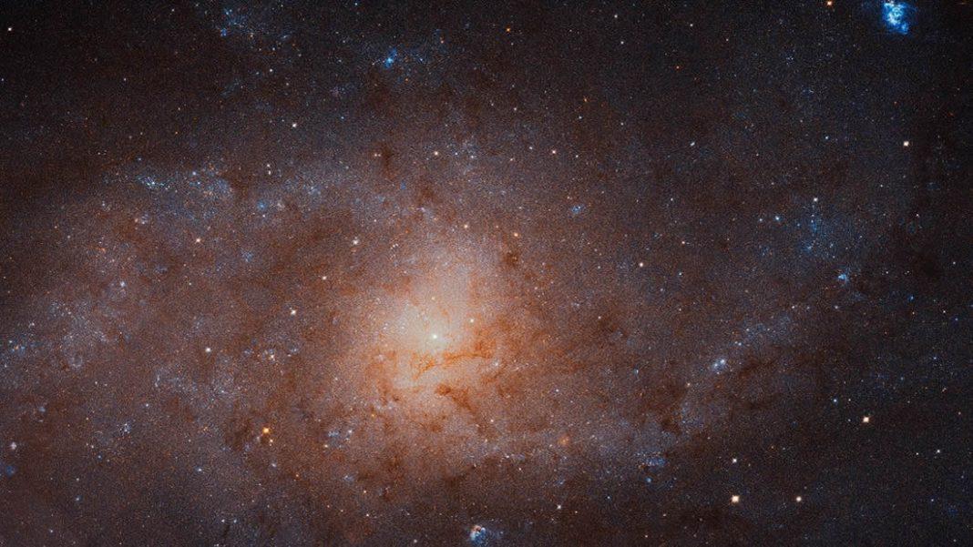 Hubble toma una imagen gigantesca de la galaxia Triangulum