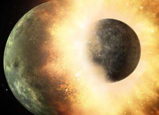 La colisión que formó la luna hizo posible la vida en la Tierra