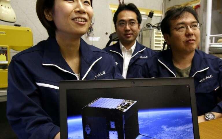 Lena Okajima, directora general de la empresa de tecnología espacial, ALE, espera ofrecer estrellas fugaces a pedido y coreografiar el cosmos