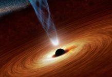 ¿Por qué los agujeros negros no tragan todo el espacio?