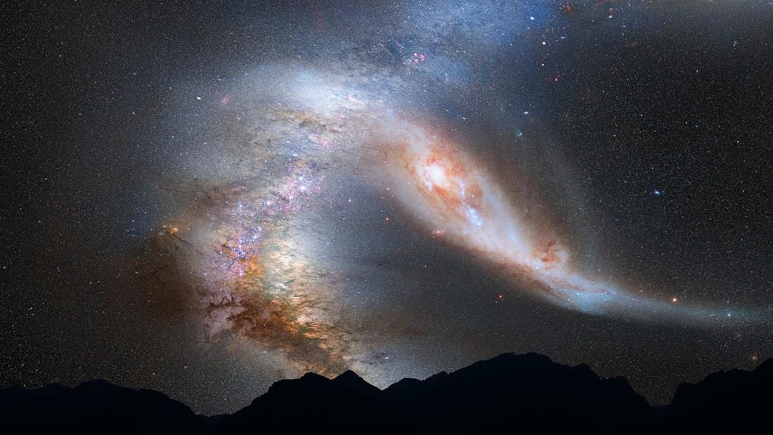 Resultado de imagen de plasma en las nebulosa Andrómeda se nos acerca