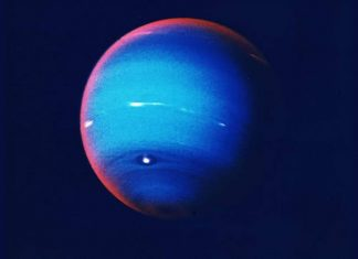 Astrónomos descubren un pequeño objeto orbitando Neptuno