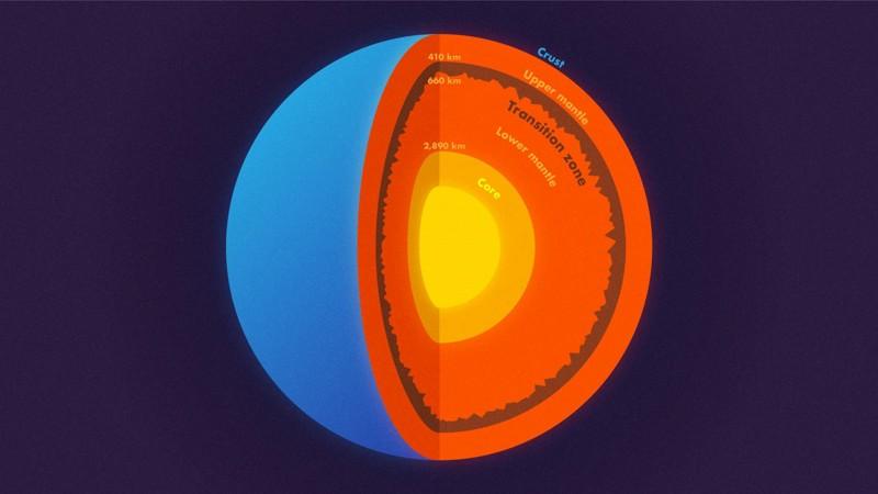 La sismóloga Jessica Irving de Princeton trabajó con el entonces estudiante graduado Wenbo Wu y otro colaborador determinaron la rugosidad en la parte superior e inferior de la zona de transición, una capa dentro del manto, utilizando olas de terremotos dispersos