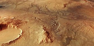 Hallan las marcas de antiguos ríos en Marte