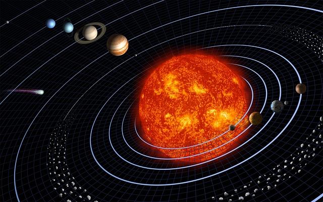 ¿Te gusta la superficie sólida de la Tierra y el clima inclinado a la vida? Agradécele a una estrella