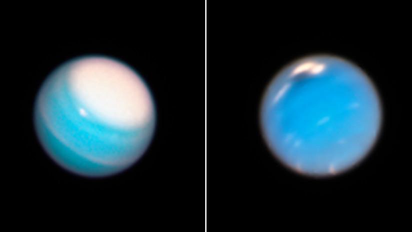 Telescopio Hubble detecta otra mancha oscura misteriosa en la atmósfera de Neptuno