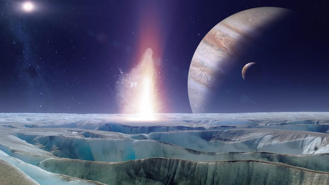 Resultado de imagen de Los icebergs en la luna Europa