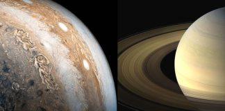 Encuentran desconcertantes datos en Júpiter y Saturno que desafían las teorías planetarias