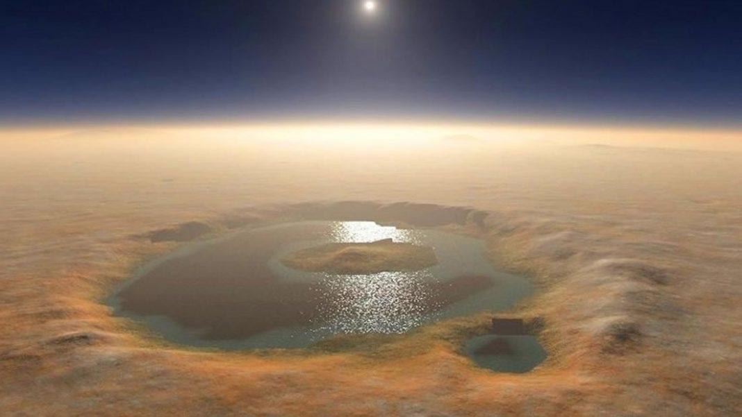 Hallan evidencia de agua subterránea en Marte