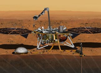 InSight Lander de la NASA se encuentra con algo grande al perforar Marte