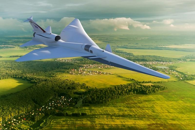 El X-59 Quiet SuperSonic Technology X-plane, o QueSST, probará sus tecnologías supersónicas silenciosas sobrevolando las comunidades en los Estados Unidos. X-59 está diseñado para que cuando vuele supersónico, la gente en el suelo no escuchará nada más que un ruido sordo y silencioso, si es que se trata de algo