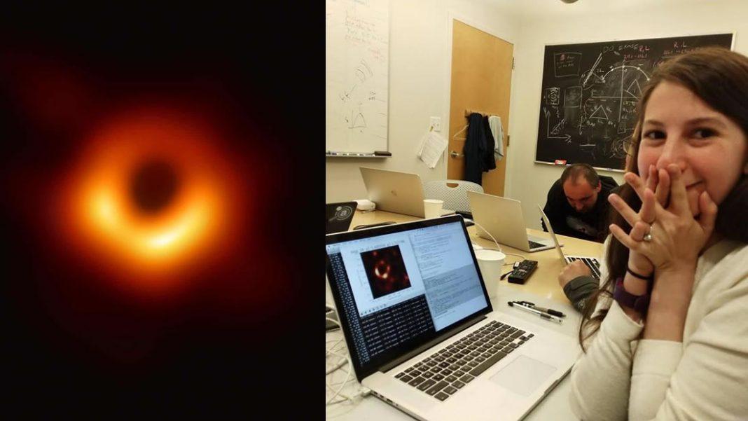 Ella es Katherine Bouman e hizo posible que veamos el agujero negro en M87