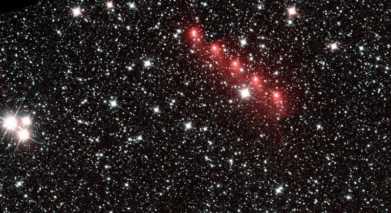 El 28 de agosto de 2015, el telescopio espacial NEOWISE divisó al cometa C / 2013 US10 acelerando por la Tierra