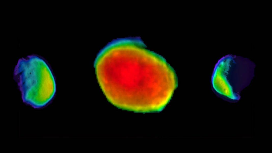 Nuevas imágenes de la luna Phobos de Marte