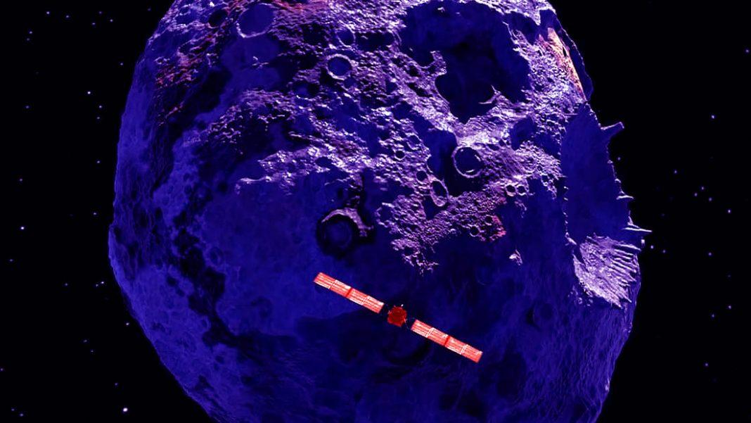 NASA se prepara para explorar un asteroide completamente metálico