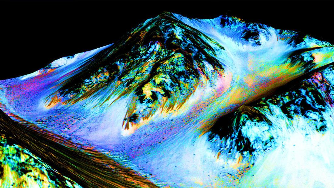 Vida extraterrestre podría vivir en charcos salados de Marte