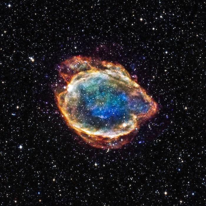 G299. Remanente de una supernova de tipo Ia