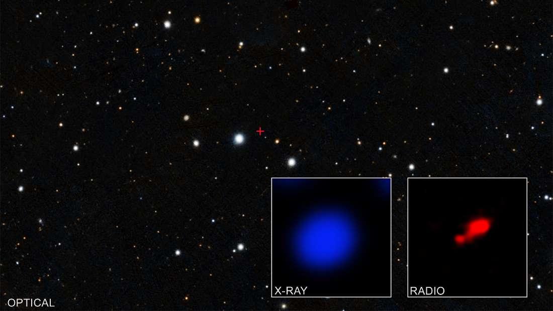 Astrónomos hallan el agujero negro supermasivo más oculto hasta ahora