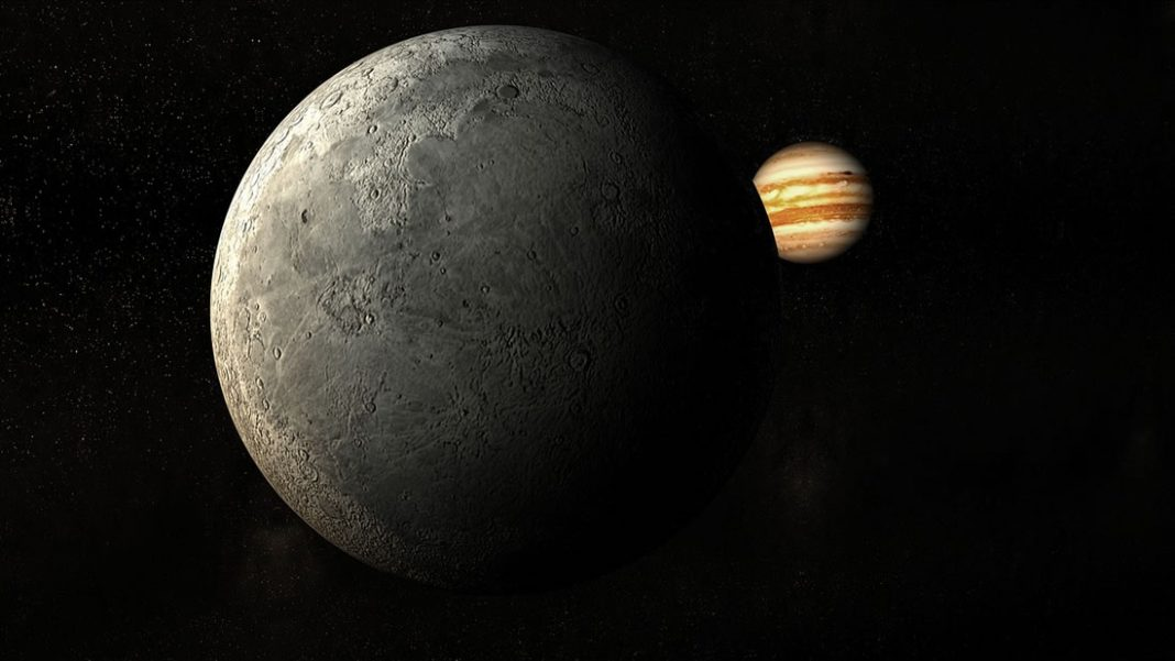 El joven Júpiter fue golpeado de frente por un enorme planeta recién nacido