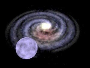 Agujero negro de masa media lanza a una estrella disparada a través de la Vía Láctea