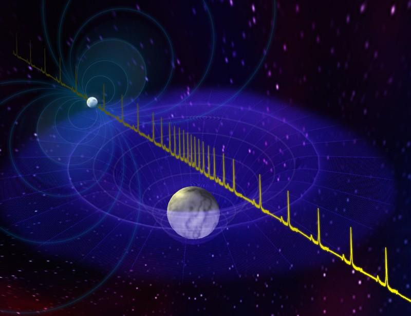 Las estrellas de neutrones son los restos comprimidos de estrellas masivas que se han convertido en supernova. Los astrónomos de WVU formaron parte de un equipo de investigación que detectó la estrella de neutrones más masiva hasta la fecha