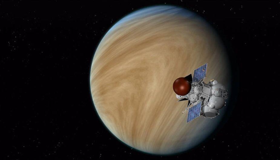 La temperatura en la superficie de Venus puede alcanzar los asombrosos 465 ºC