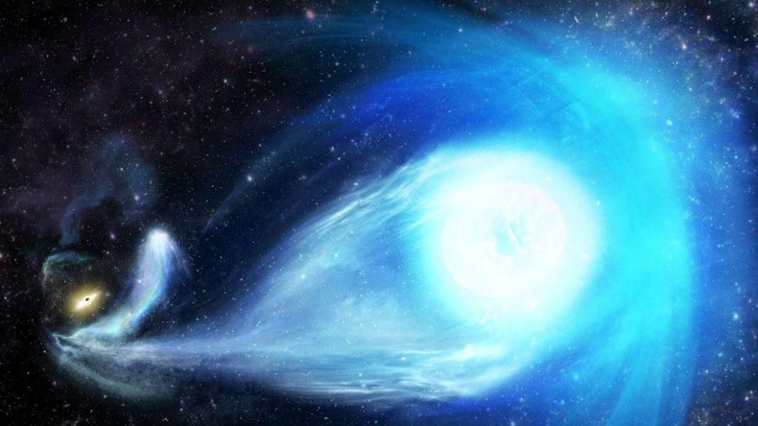 Agujero negro supermasivo expulsa a una estrella de la Vía Láctea a una velocidad récord