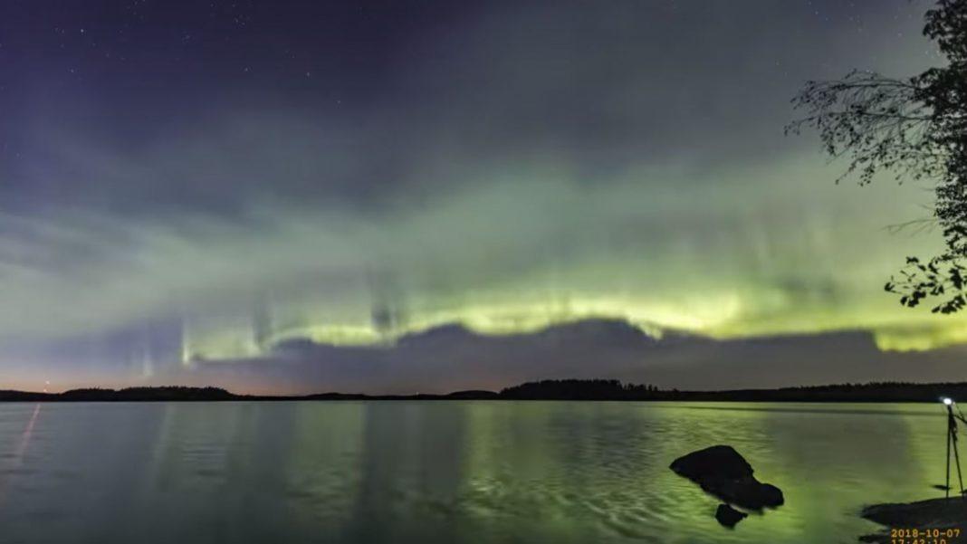 Hallan un tipo totalmente nuevo de Aurora en el cielo del norte