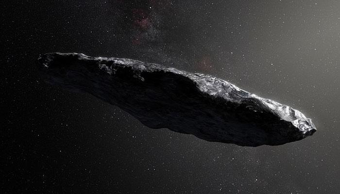 Asteroides alienígenas orbitan alrededor de nuestro Sol