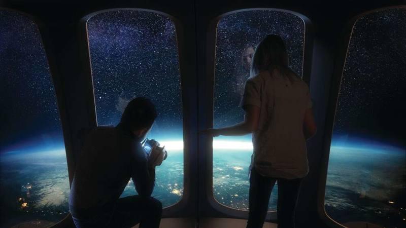 Terraplanistas su momento ha llegado: turistas podrían viajar pronto a la estratosfera en un globo espacial